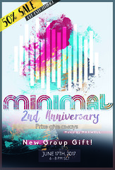 MINIMAL - 2nd Anniversary! (MINIMAL Store) Tags: minimal x party anniversary