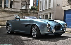 Bristol Bullet Concept (Jack de Gier) Tags: london uk mayfair haysmews bristol bullet concept supercar worldcar sportscar green exotic convertible rare limited v8 nikon shoot unique