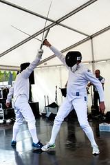Fencing 2 (JimmyBrandt) Tags: fencing speed agility dexterity fast swords sabre step d7100 nikon sverige sweden strängnäs