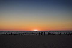 Sunset (DJ Wolfman) Tags: sunset lakemichigan lake michigan michiganfavorites holland hollandmi westmichigan blue yellow orange beach color colorful olympus olympuspenf penf 30mmf35 zuiko zd micro43