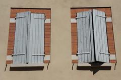 Shuttered (notFlunky) Tags: dordogne france lot aquitaine holiday south west la vezier sarlat montignac toulouse window shutter pair shut