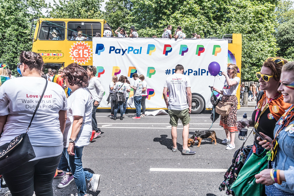 LGBTQ+ PRIDE PARADE 2017 [STEPHENS GREEN BEFORE THE ACTUAL PARADE]-129868
