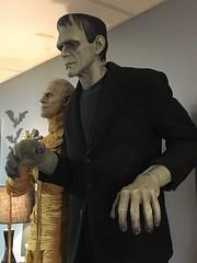Universal Monsters Life Size Frankenstein (garystrange) Tags: frankenstein prop life size replica 11 halloween boris karloff portrait