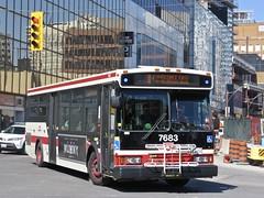 Toronto Transit Commission 7683 (YT | transport photography) Tags: ttc orion vii 7 bus toronto transit commission