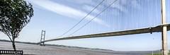 Humber Bridge Panorama (Have Cam Will Travel.) Tags: humberbridge