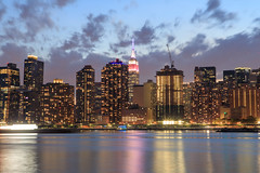 NYC Skyline (Jemlnlx) Tags: canon eos 5d mark iv 4 5d4 5div new york city ny nyc queens borough long island east river fireworks firecrackers 4th fourth july 2017 macys macy display skyline empire state building esb iconic