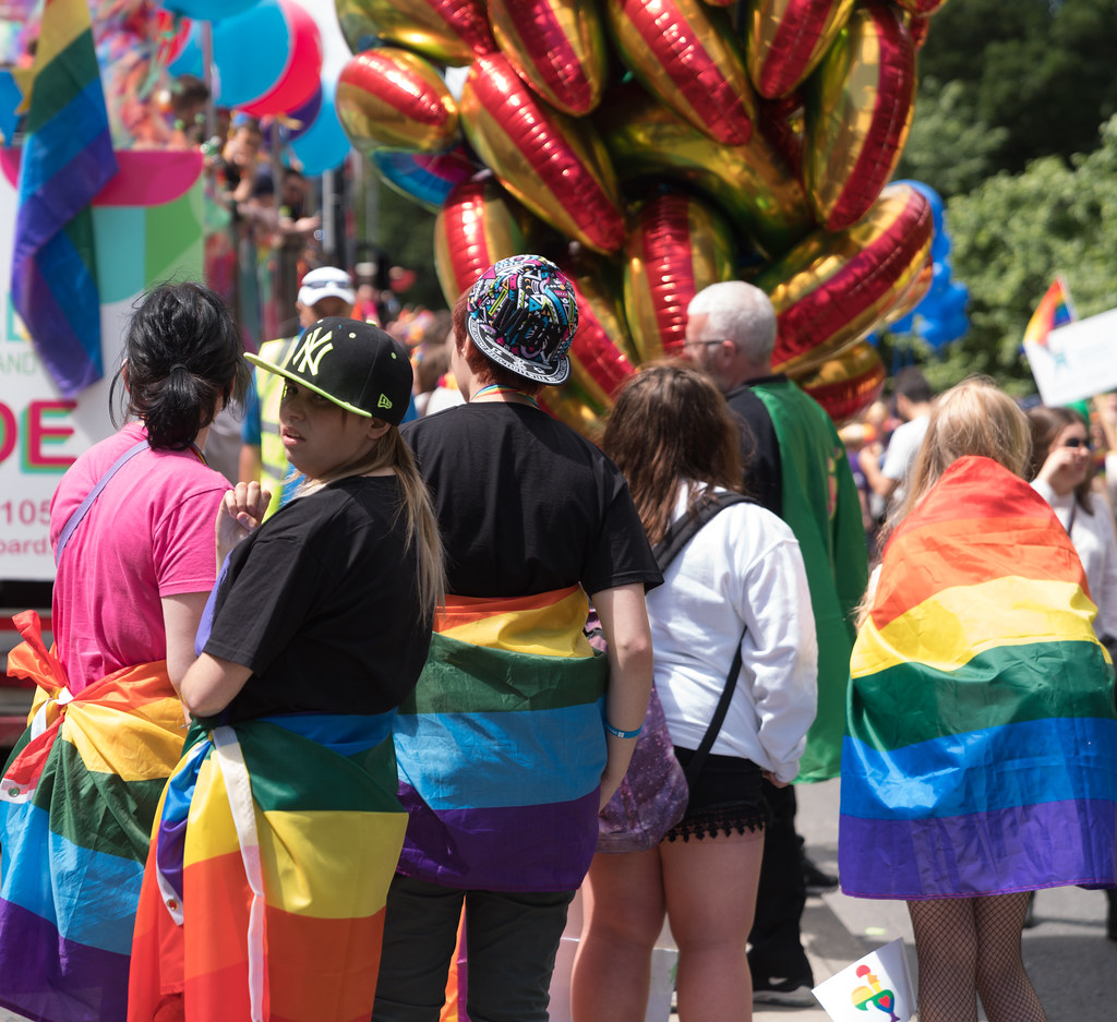 LGBTQ+ PRIDE PARADE 2017 [STEPHENS GREEN BEFORE THE ACTUAL PARADE]-129940