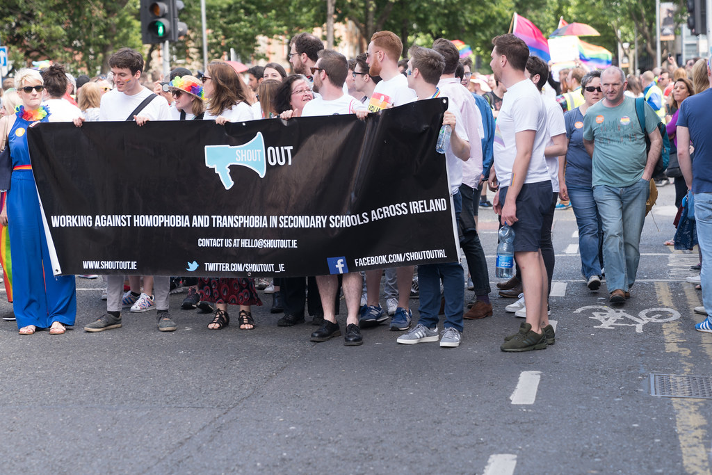 LGBTQ+ PRIDE PARADE 2017 [ON THE WAY FROM STEPHENS GREEN TO SMITHFIELD]-130007
