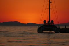 P1000575 (FAJM) Tags: greece syvota sivota thesprotia epirus σύβοτα θεσπρωτία ήπειροσ ελλάδα sunset corfu sea κέρκυρα