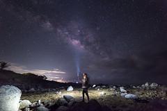 Selfie with the Milky Way (Bravo Fotografia) Tags: selfie self portrait stars star milkyway vialactea víaláctea estrellas universo cosmos