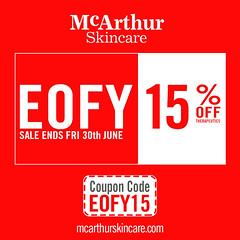 McArthur Skincare 15% OFF Therapeutic Range EOFY Sale (mcarthurskincare) Tags: mcarthurskincare pawpaw papaya australianmade petrochemicalfree notoxins noparabens nonasties onsale salenowon eofysale eofybargains eofy