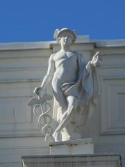 Mercury, Olympian statue on Börsen, Gustav Adolfs torg, Gothenburg, Sweden (Paul McClure DC) Tags: gothenburg göteborg sweden sverige july2015 sculpture architecture historic