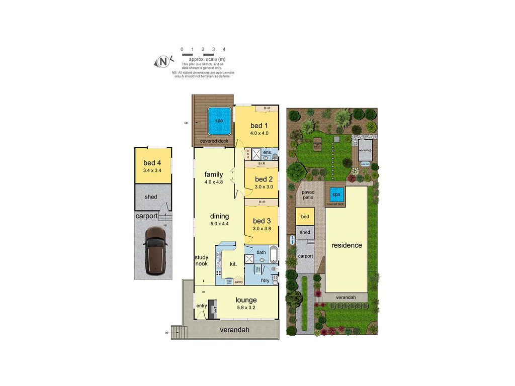 86 Headingley Road floorplan