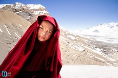 A young monk (manuj mehta) Tags: monastery monks spiti valley incredible india people red robe buddhist tibetian young kaza kalpa himachal pradesh himalayan ranges photography lonely planet travel unexplored discover amazingshot amazing peace key dhankar gompa