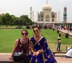 Visite du Taj Mahal - GlobAlong (infoglobalong) Tags: inde visite tajmahal excursions enfants garçons orphelinat jaipur activités enseignement jeux bénévoles international volontaire humanitaire
