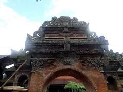 ubud_035 (OurTravelPics.com) Tags: ubud top part back side entrance gate puri saren agung palace