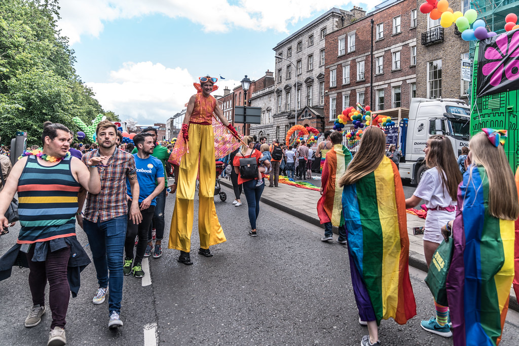LGBTQ+ PRIDE PARADE 2017 [STEPHENS GREEN BEFORE THE ACTUAL PARADE]-129770