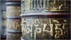Mani Prayer Wheel (abiexplorer) Tags: prayer wheel om mani padme hum leh india