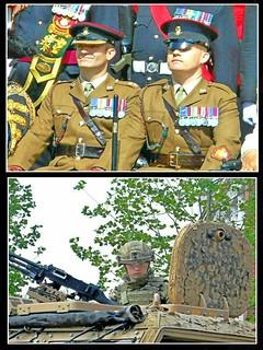 Regimental Faces ...