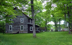 Rustic home--Explored (yooperann) Tags: grey wood home old white windows princeton marquette county gwinn upper peninsula michigan cloudy day