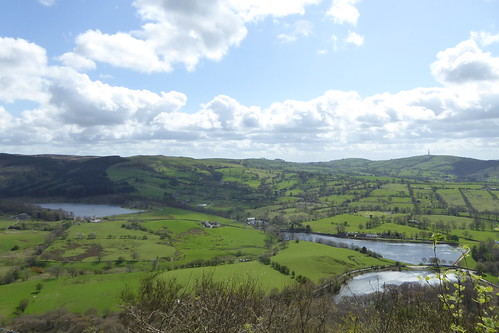 Reservoirs, seen from Tegg's Nose Country Park