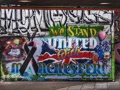 Good can prevail (Belinda Fewings (3 million views. Thank You)) Tags: uk unitedkingdom interesting international thoughtprovoking meaningful beautiful city urban decorating travel panasoniclumixdmc belindafewings expression artistic creativeartphotography goodness peace love onelove words colours colourful goodcanprevail graffiti southbank london