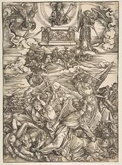 Albrecht Dürer (1471-1528) (nogretchen) Tags: albrechtdürer woodcut apocalypse 15thcentury