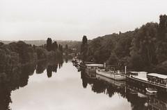 Vue sur Seine  (A view on the Seine) (l'imagerie poétique) Tags: limageriepoétique poeticimagery laseine france film 35mm minoltax700 50mmf12 kodaktrix400