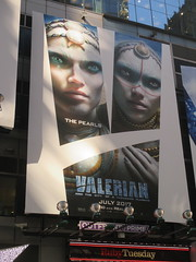 Valerian and the City of a Thousand Planets Billboard Poster 7952 (Brechtbug) Tags: valerian city thousand planets billboard poster times square nyc 2017 french science fiction comics series from 1967 valérian laureline written by pierre christin illustrated jeanclaude mézières film movie directed luc besson new york 06262017