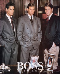 Hugo Boss 1987 (barbiescanner) Tags: vintage retro fashion vintagefashion vintageads 80s 1980s 80sfashion 1980sfashion hugoboss menswear mensfashion