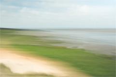 tideland.......North Sea (Brigitte Lorenz) Tags: landscape abstract northsea tideland ocean sea seascape icm