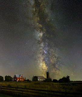 Milky Way over North Gower Ontario (Explored)