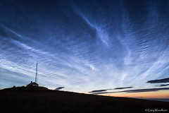 Lookout Ripples - Noctilucent Clouds, Low Newton by the Sea, Northumberland (Gary Woodburn) Tags: noctilucent night shining clouds sky stars starry calm northumberland canon 6d samyang 24mm low newton by sea coastguards cottage lookout