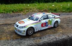 1/43 BMW 320si Touring Car (thebigmacmoomin) Tags: 143 diecast code3 modified custom bmw 320si btcc touringcar ebay rodcollard hmplant wsr