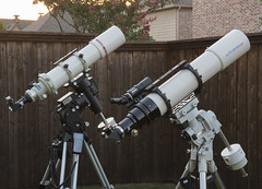 Ready for Jupiter & the Moon [Explored} (VisualUniverse) Tags: telescope refractor astronomy astrophysics takahashi