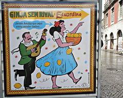Lisboa 2017 - Ginja Sem Rival Eduardino de Nuno Saraiva (Markus Lüske) Tags: portugal lisbon lisboa lissabon graffiti graffito kunst wandmalerei mural muralha art arte nuno saraiva nunosaraiva lueske lüske