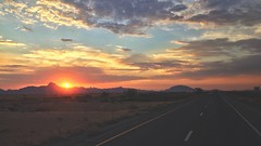 Arizona Sunrise 7/8/17 (Joe D. Photography) Tags: sunrise arizona highway morning iphone photography landscape trucking roadtrip desert