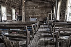 Old Church in Taney County, MO (E Miller Photography) Tags: on1 church hdr rural missouri
