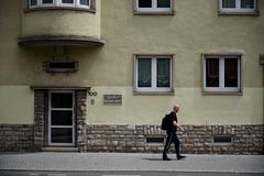 Haus Zur Schwarzfarbe (grapfapan) Tags: street germany thüringen erfurt