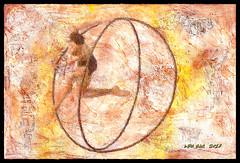 Existential Dance - Danza Existencial (Leo Bar) Tags: painting textures textura dance danza digitalart colors compositing fire leobar pixinmotion netartii colorful