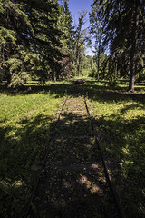 tram (Adrian stoness) Tags: manitoba canada grandrapids tram oldestrailinwesterncanada heritage track history 1877 portage