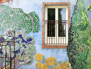 A garden view:  Salernes, Var, Provence