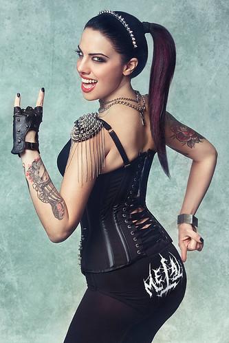 Valentina Rocket  🌹 #metal #rock 🎸 #hardrock #ladyofmetal  #modella #heavymetal 🐐 #elettritv 🎥 #metalitalia #musica #italy #concerti #music #dalvivo #sottosuolo #live #underground 👙#milano #italia 😈📷