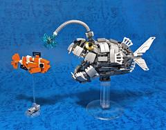 LEGO Mech Footballfish-03 (ToyForce 120) Tags: lego robot robots mecha mech mechanic legomech legomoc