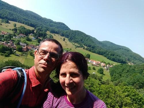 Sur le Château du Petit Arnsbourg #Obersteinbach #VisitAlsace