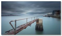 Bridges to nowhere (João Cruz Santos) Tags: waterscape river tagus lisbon almada lisboa portugal ginjal pier long exposure fotodiox wonderpana nd1000 10stops skyhdrapp