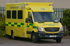 NAS 2017 Mercedes Benz 519 43 Sprinter Wilker ICV 171C2807 (Shane Casey CK25) Tags: national ambulance service 2017 mercedes benz 519 43 sprinter wilker icv 171c2807 nas incident medical patient yellow green blue bluelights lights flash flashing siren sirens emergency emt rescue paramedic advanced advancedparamedic technician ert response cork city ireland irish crew pts transport intermediate care vehicle battenburg