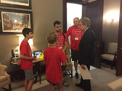 With Senator Roy Blunt