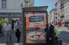 Hunger is not halal. Brussels, May 2016. (joelschalit) Tags: brussels bruxelles belgium belge streetphotography arab ricohgr immigration diversity multiculturalism