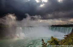 Moody Niagara Falls (SarahO44) Tags: niagarafalls ontario canada ca moody sky clouds water falls niagara landscape canon 6d nature outdoors cascade horseshoe